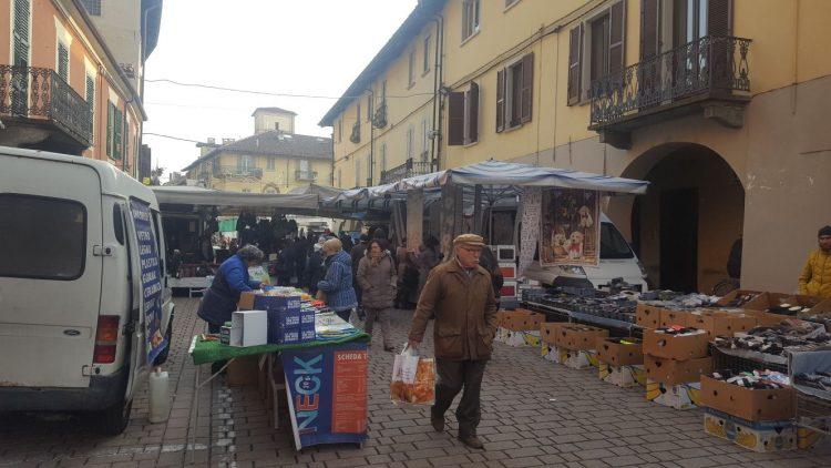 Problemi per lo spostamento del mercato a Carmagnola