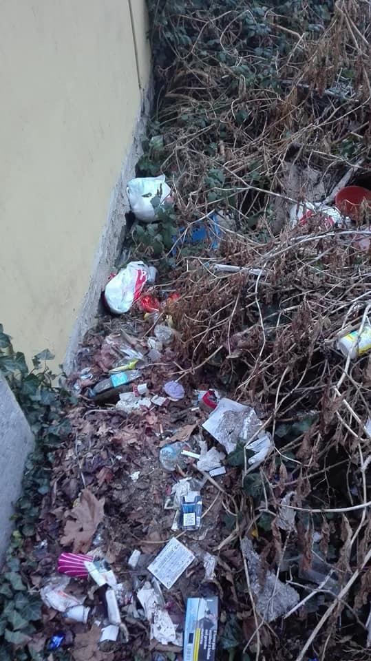 CARMAGNOLA – Continuano gli abbandoni di rifiuti in via Torino