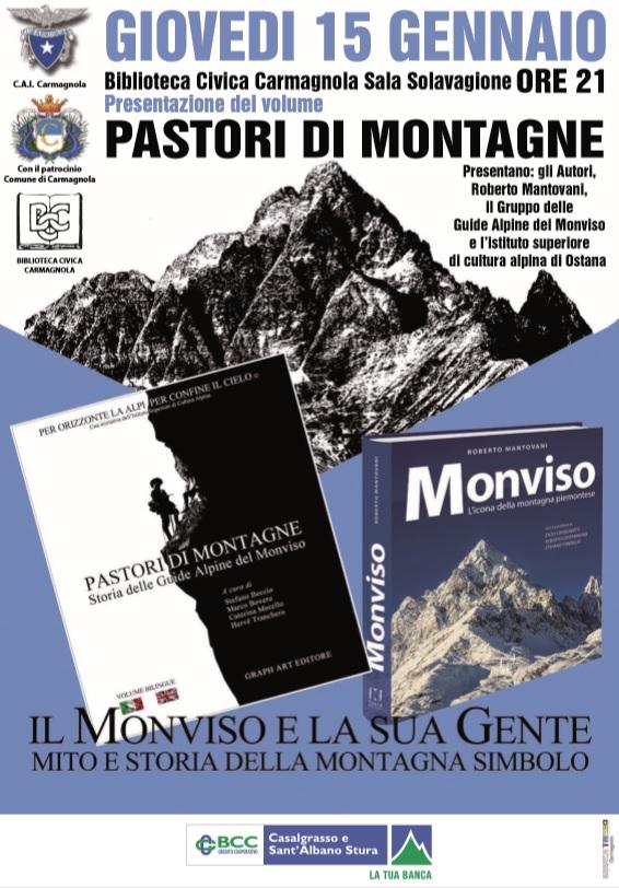 """A Carmagnola presentazione del libro """"Pastori di Montagne"""""""