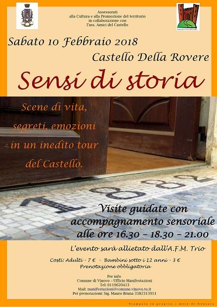 Visita guidata al Castello della Rovere a Vinovo