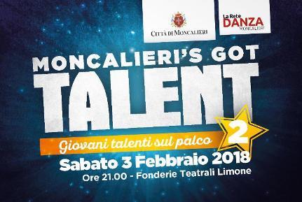 """Scade il 10 gennaio il termine per iscriversi a """"Moncalieri's Got Talent"""""""