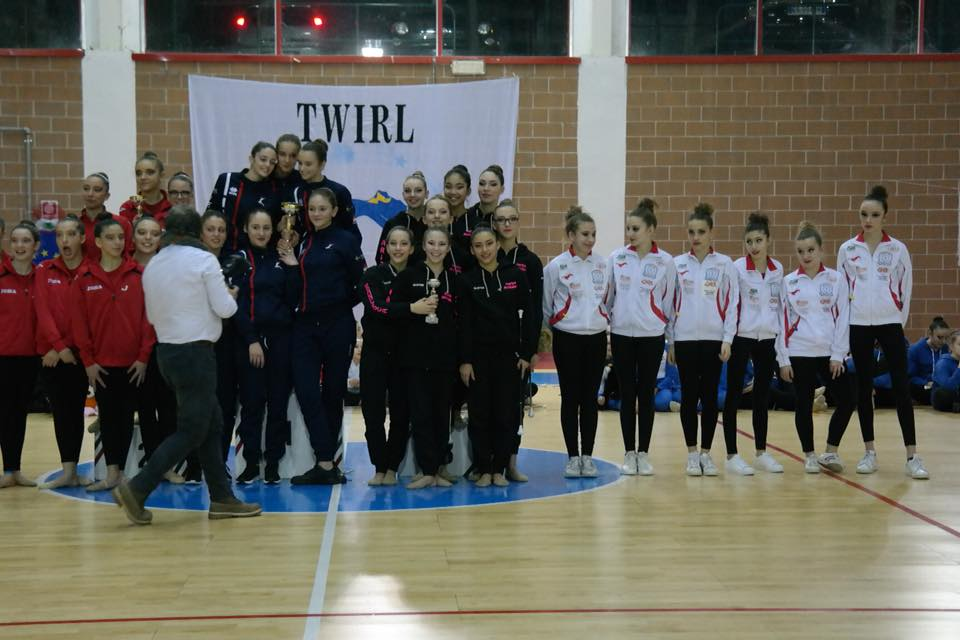 Twirling: atlete loggesi in vista