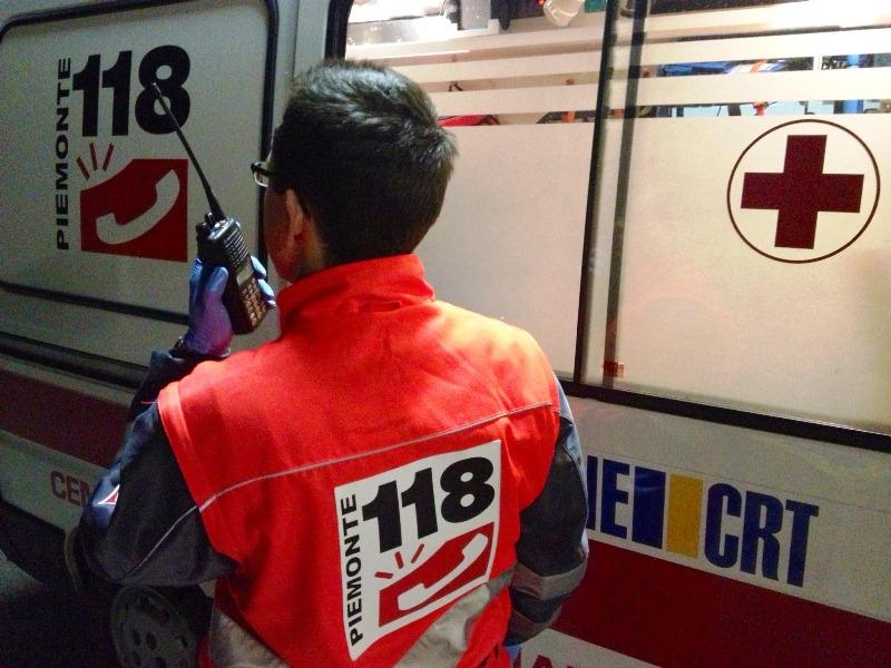 Un pecettese ferito nello scontro tra auto avvenuto a Pino Torinese