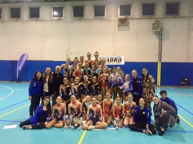 "L'Akuadro Nichelino ""sbanca"" i Campionati Regionali"