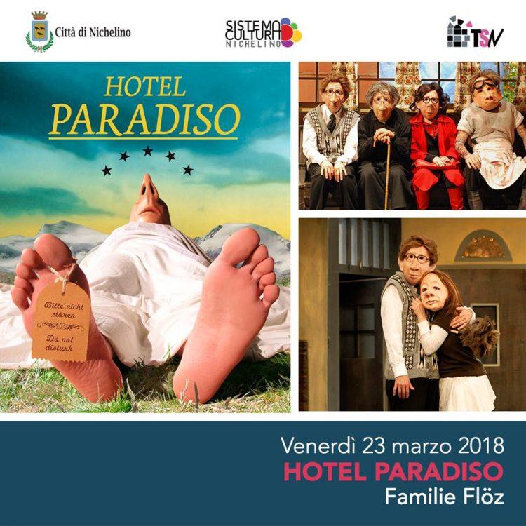 """NICHELINO – Al Superga lo spettacolo """"Hotel Paradiso"""""""