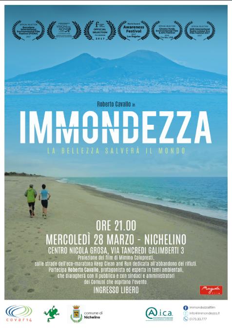 """NICHELINO – Cinema e ambiente con """"Immondezza"""""""