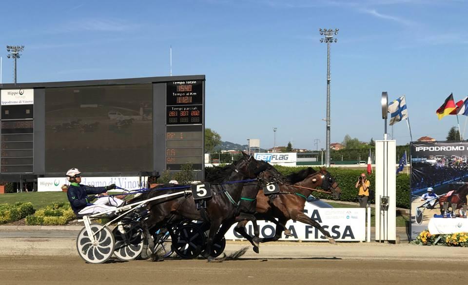 VINOVO – Mercoledì di gare all'ippodromo