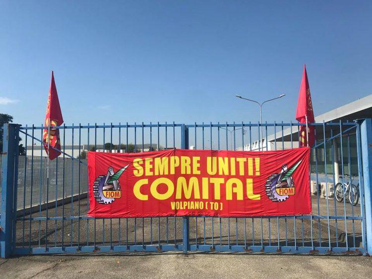 NICHELINO – L'amministrazione a fianco dei lavoratori Comital