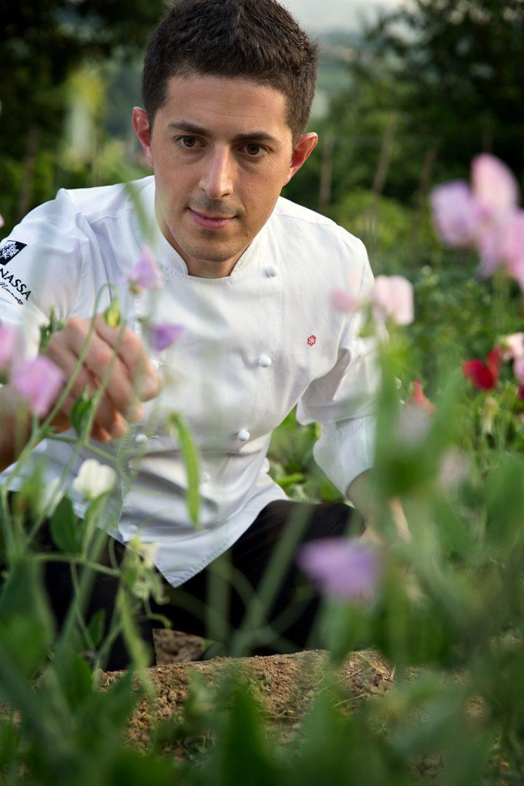 Lo chef stellato Mammoliti al golf di Pecetto
