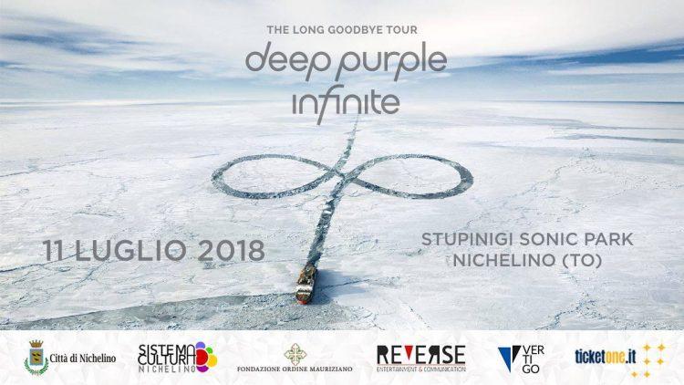 NICHELINO – I Deep Purple chiudono la rassegna musicale di Stupinigi