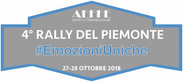 La scuderia moncalierese Aeffe apre le adesioni al Rally del Piemonte