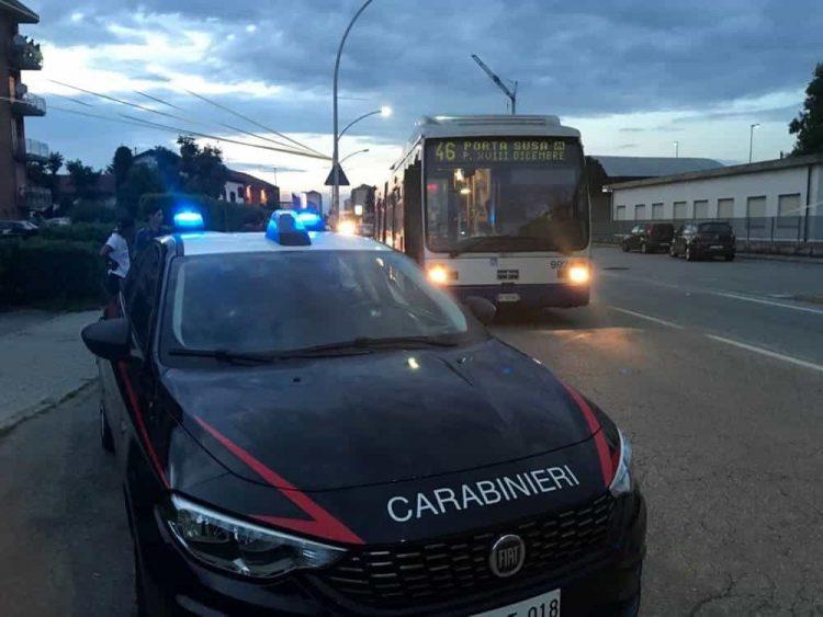 TORINO – Controlli straordinari dei carabinieri sui mezzi Gtt