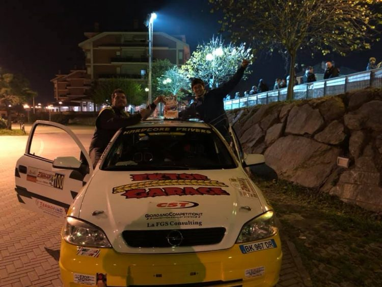 Al Rally di Castiglione c'erano anche Barberis e Bellonzi