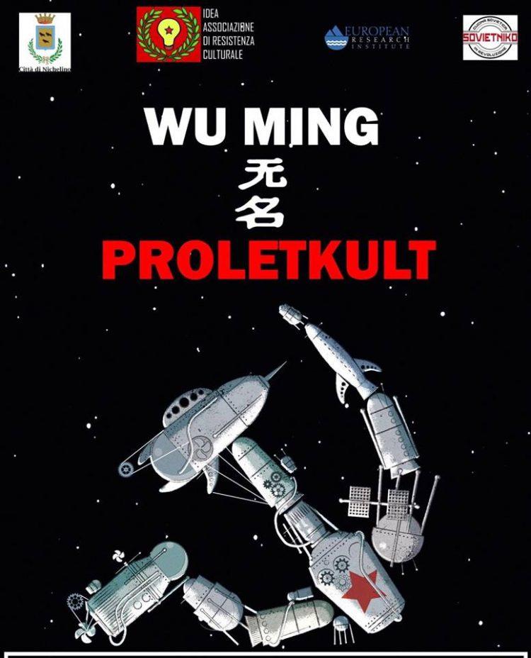 """NICHELINO – Presentazione del libro """"Proletkult"""""""