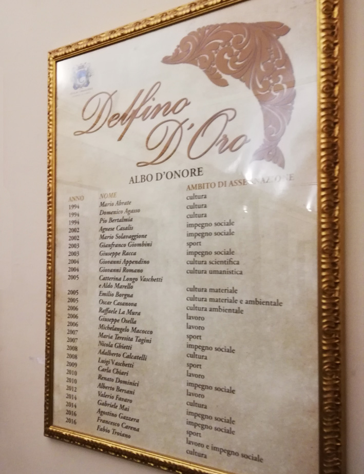 CARMAGNOLA – Martedì 18 dicembre si premiano i Delfini d'Oro Felice Giraudo e Sandro Magagna
