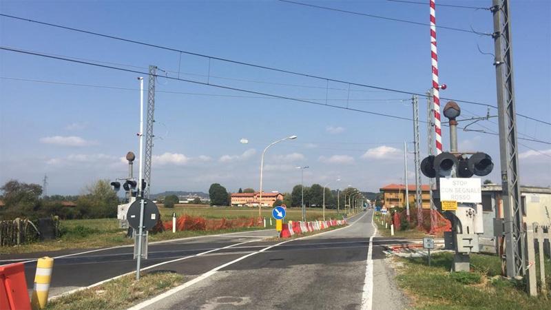 Eliminazione passaggi a livello sulla Chivasso Aosta