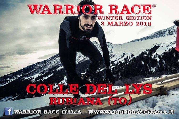 """Domenica 3 marzo a Rubiana e Viù c'è la """"Warrior Winter Race"""""""