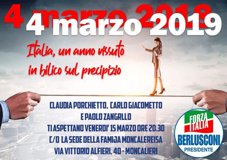 MONCALIERI – Alla Famija Moncaliereisa di riunisce il gotha di Forza Italia