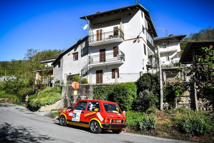 RALLY STORICO: Pellegrino  – Peruzzi: un'avventura andata a buon fine al Cuneo Storico