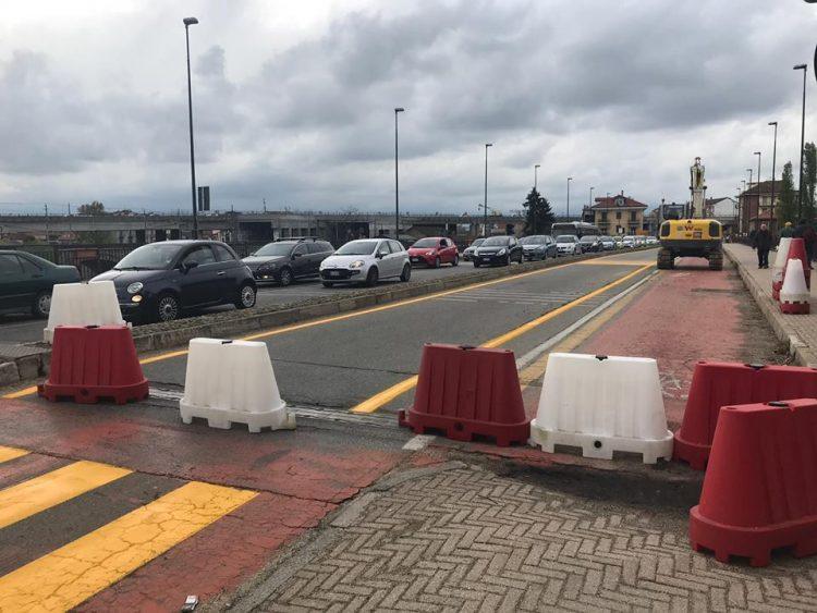 MONCALIERI – Il ponte sul Po di via Martiri parzialmente chiuso per ragioni di sicurezza