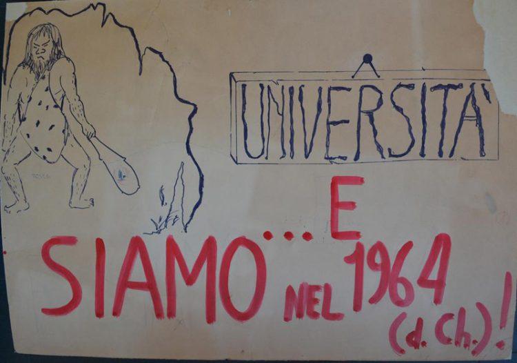 Le proteste studentesche in mostra
