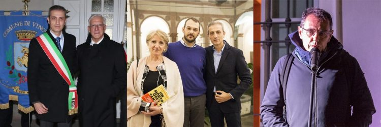 Vinovo: Cittadinanza onoraria a tre testimoni di giustizia