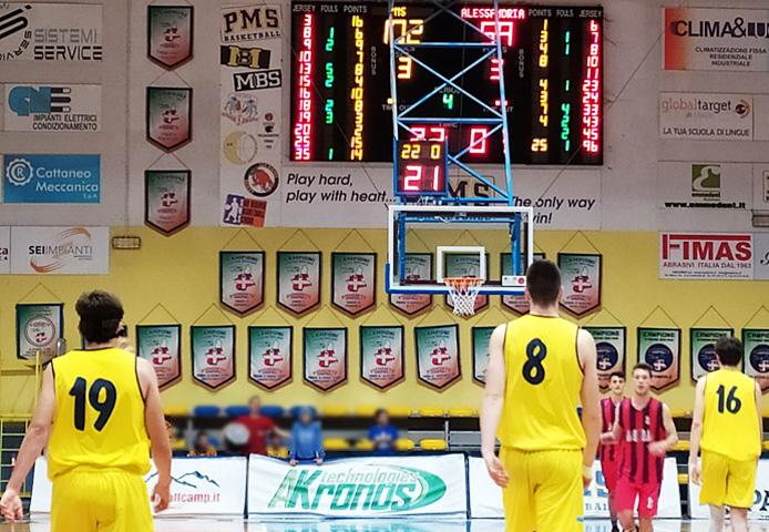 Basket C Gold – Play-out: stavolta l'Allmag Pms va in tripla cifra con Il Canestro