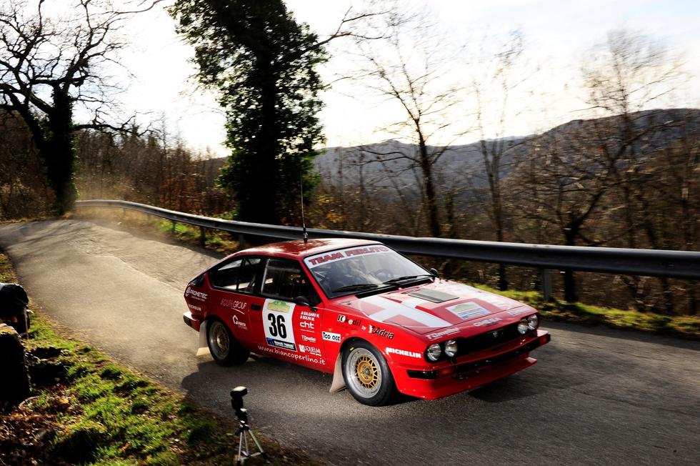 Partita da Sanremo la Michelin Rally Cup