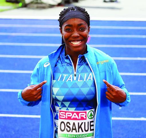 Daisy Osakue, il nuovo personal best a 61.69 metri vale l'oro alle Universiadi di Napoli