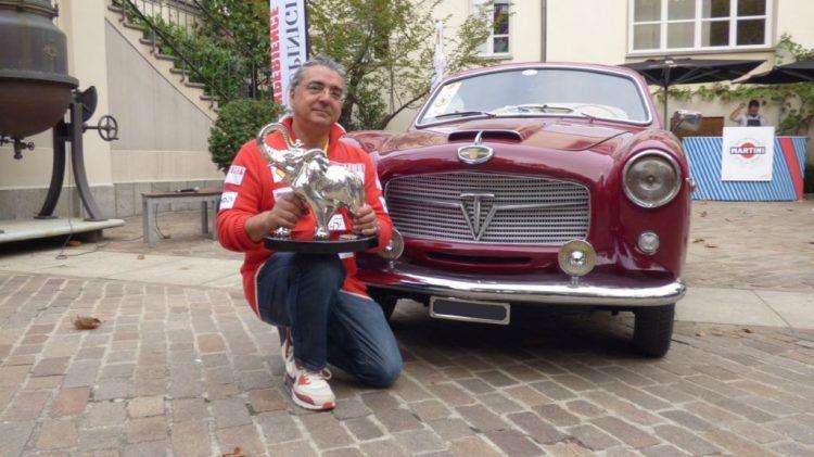 Antonio Carastro si aggiudica il Gran Gala Ceirano 2019 su Fiat 1100 TV Pininfarina