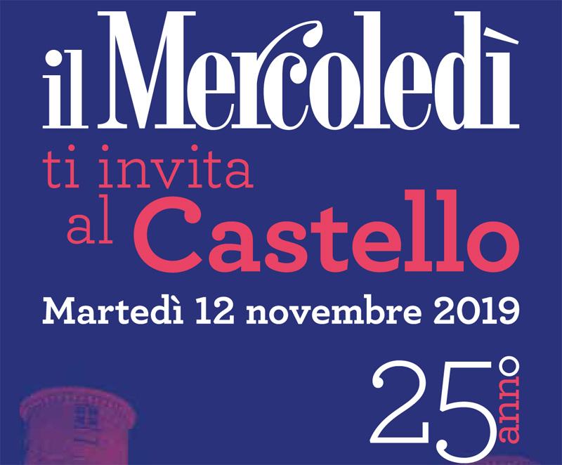 Il Mercoledì festeggia 25 anni al Castello Reale