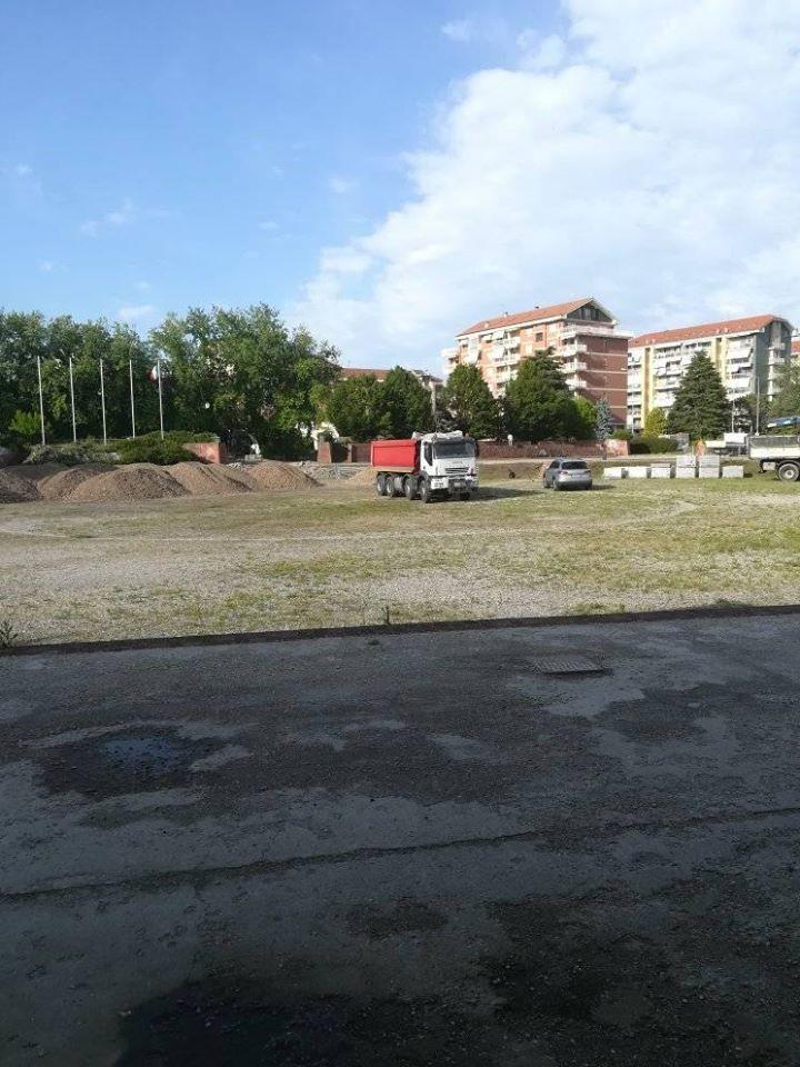 TROFARELLO – Ripresi i lavori in piazzale Europa