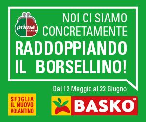"""Basko ti fa """"raddoppiare il borsellino"""" con i suoi prezzi Più Bassi"""