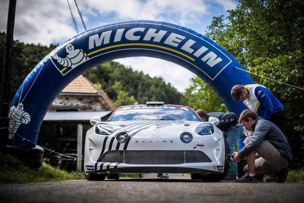 Michelin Motorsport scalda i muscoli e le gomme nel test di Dronero