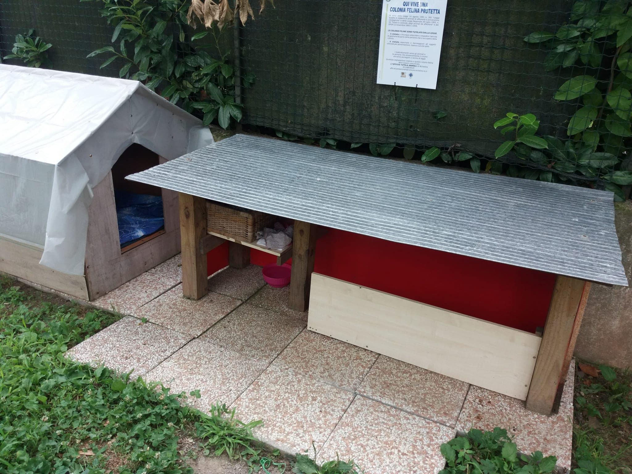 NICHELINO – Le colonie feline hanno i cartelli di segnalazione