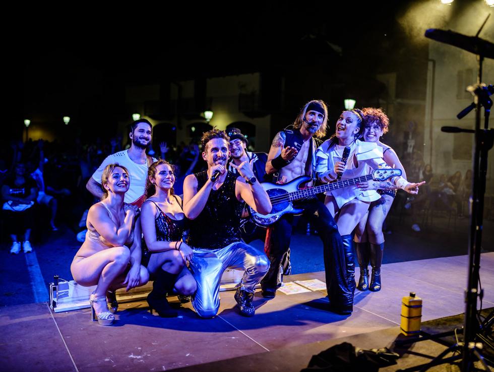 CAMBIANO – Un successo la serata estiva con l'Abc Band
