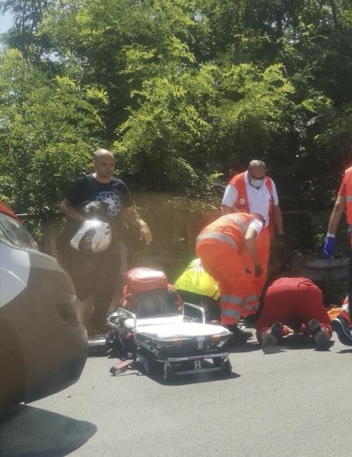 NICHELINO – Incidente su strada Debouchè: donna in ospedale