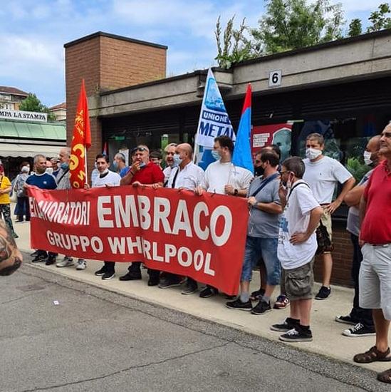 EX EMBRACO – Continuano le proteste dei lavoratori