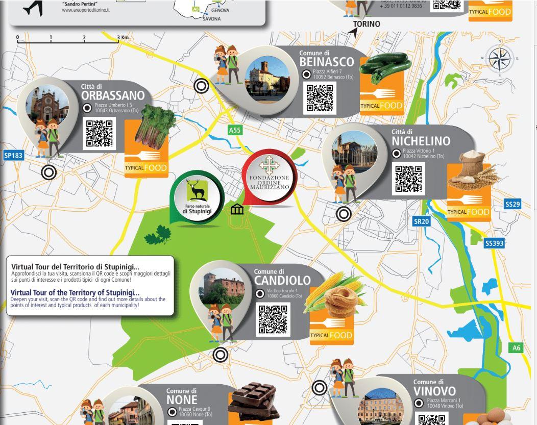 NICHELINO – Presentata la nuova guida per il parco di Stupinigi