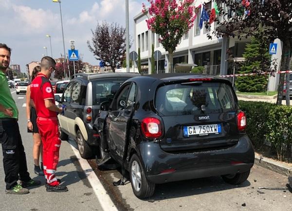Moncalieri strada Carignano sotto accusa per continui incidenti