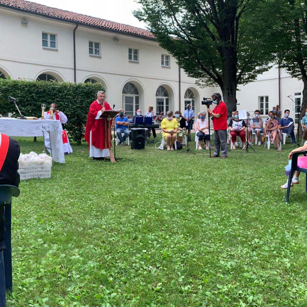 SANTENA – Iniziati i festeggiamenti per il santo patrono