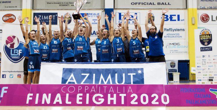 Coppa Italia serie A2, vince ancora Crema, vince Moncalieri, vince il basket femminile