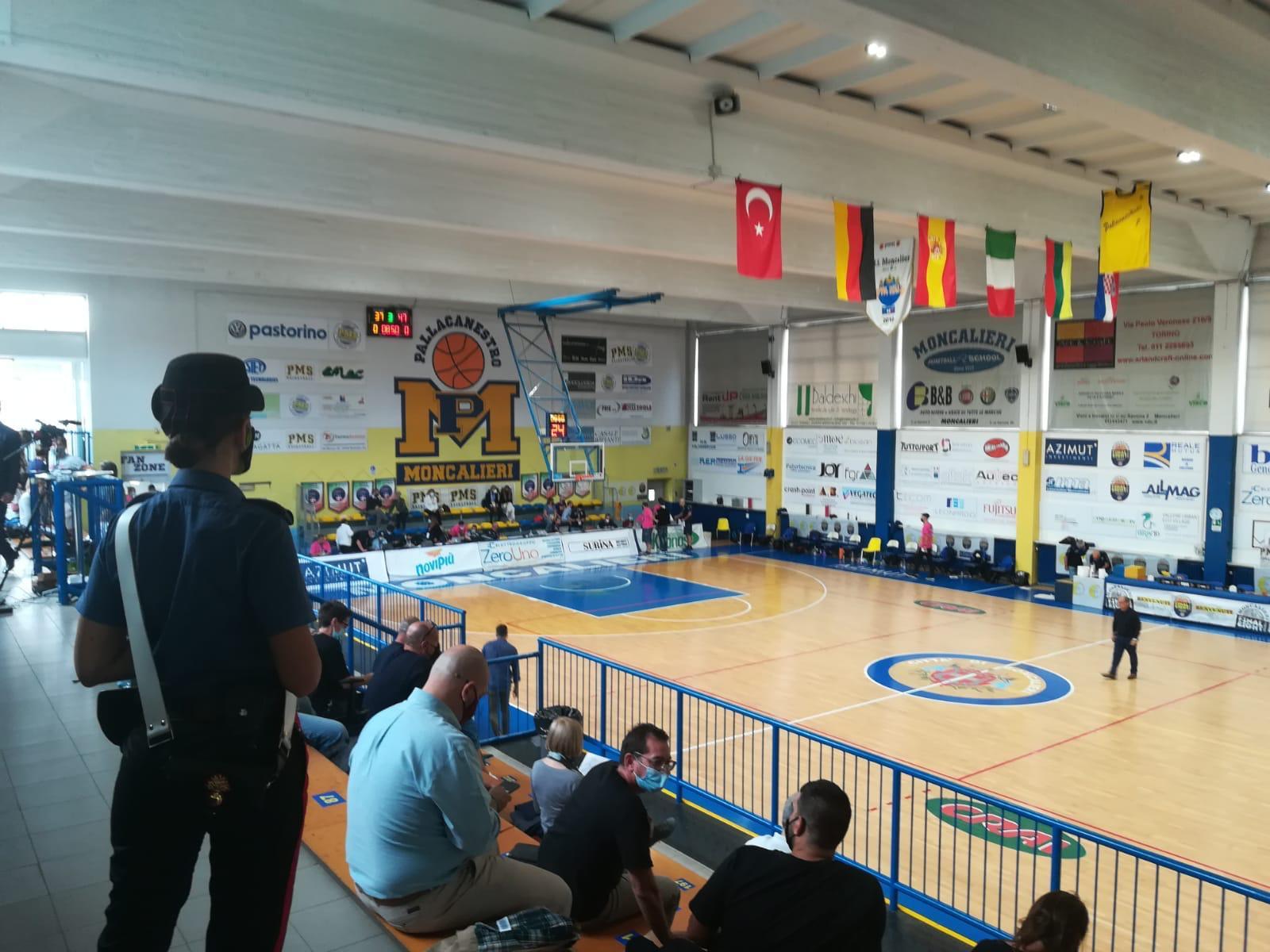 MONCALIERI – Iniziate le finale eight di coppa italia di basket femminile