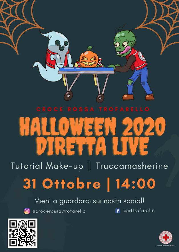 Sabato 31 ottobre Halloween in diretta live a Trofarello