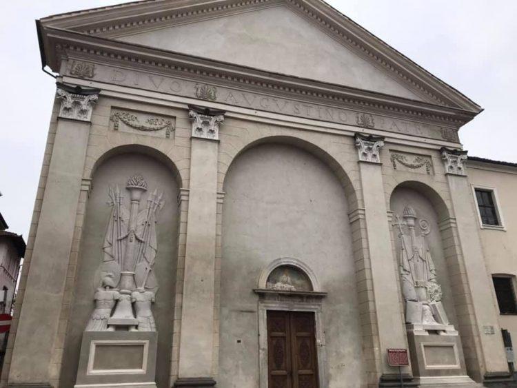 CARMAGNOLA – Nuovo volto per la facciata di Sant'Agostino
