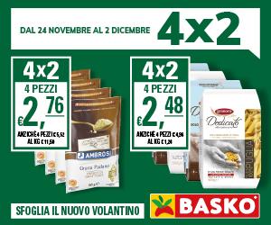 Solo da Basko trovi il 4×2 – fino al 2 dicembre