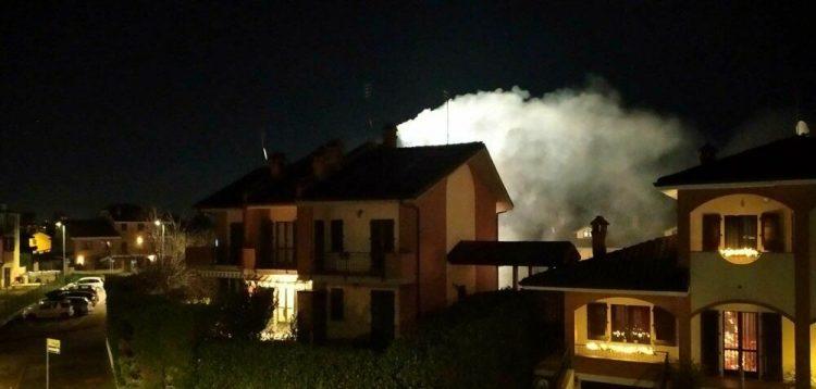 CANDIOLO – Appartamento a fuoco, intossicato un uomo