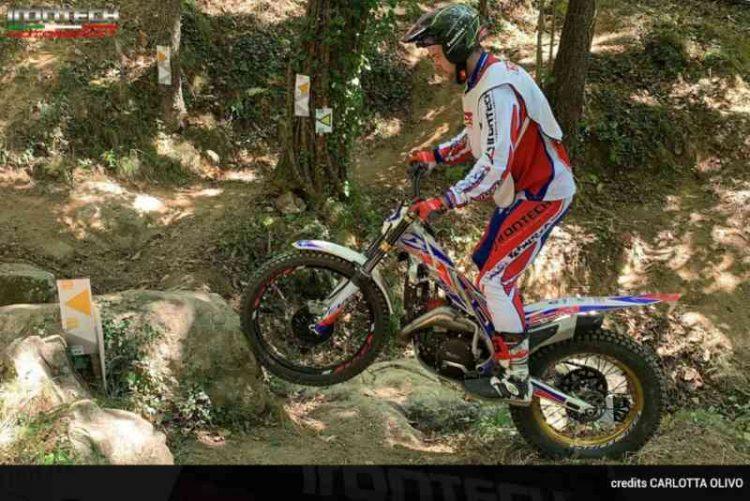 Campionato Trial Piemonte e Valle d'Aosta: Ironthec campione con Andrea Vaccaretti