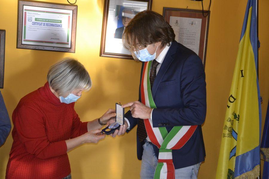 NICHELINO – Medaglia d'onore in memoria dell'ex internato