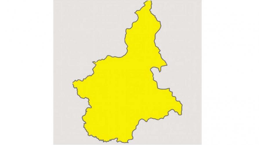 COVID – Il Piemonte resta in zona gialla: pre report del ministero positivo